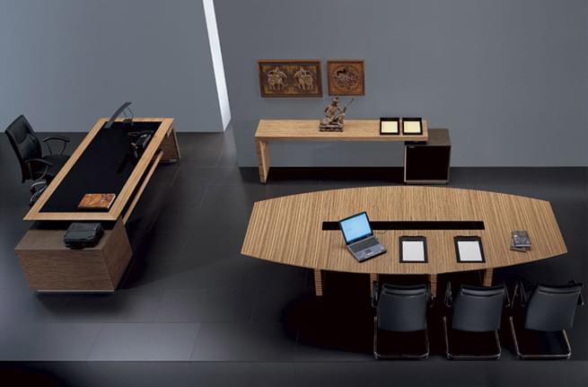 板式会议桌展示