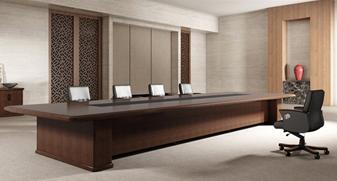 实木长方形会议桌