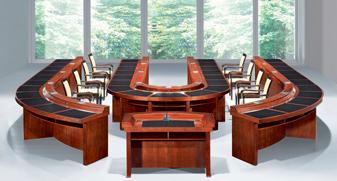 实木商务会议桌