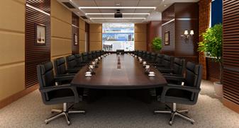 实木多媒体会议桌